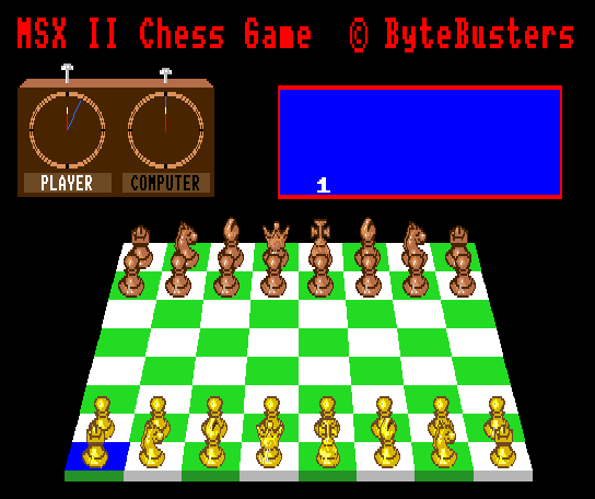 The Chess game 2